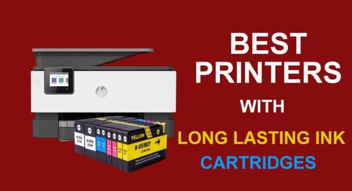 10 Best Printer With Long Lasting Ink Cartridges Manual Guide